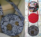 Roundabout Bag sewing pattern by Poorhouse Quilt Designs 3