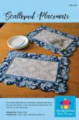 Scalloped Placemats sewing pattern by Poorhouse Quilt Designs