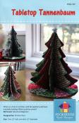 Tabletop Tannenbaum sewing pattern by Poorhouse Quilt Designs