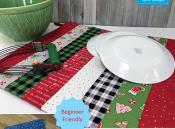 Dry Ideas Table Runner sewing pattern by Poorhouse Quilt Designs 2