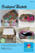 Scalloped Baskets sewing pattern by Poorhouse Quilt Designs