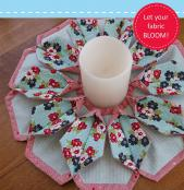Fold 'N Stitch Blooms sewing pattern by Poorhouse Quilt Designs 2