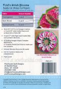 Fold 'N Stitch Blooms sewing pattern by Poorhouse Quilt Designs 1