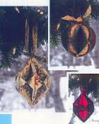 Fold 'N Stitch Holiday Ornaments sewing pattern by Poorhouse Quilt Designs 3