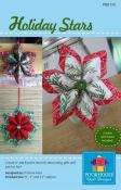 INVENTORY REDUCTION...Holiday Stars sewing pattern by Poorhouse Quilt Designs