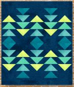 Formation quilt sewing pattern Card from Purple Pineapple Studio 1