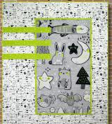 INVENTORY REDUCTION -- Sleep Tight quilt sewing pattern Card from Purple Pineapple Studio 1