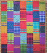 Sock It To Me quilt sewing pattern Card from Purple Pineapple Studio 1