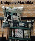 CLOSEOUT...Uniquely Mathilda pillow sewing pattern Card from Purple Pineapple Studio 1