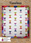 CLOSEOUT...Timeless quilt sewing pattern Card from Purple Pineapple Studio