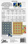 All For One quilt sewing pattern from Quilt Moments 1