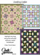 Leading Ladies quilt sewing pattern from Quilt Moments