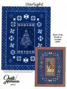 Starlight quilt sewing pattern from Quilt Moments