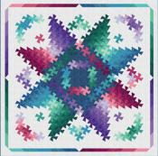 Twister Shimmer quilt sewing pattern from Quilt Moments 3
