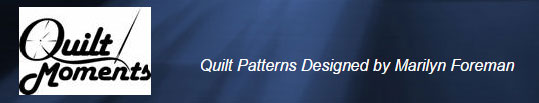 Quilt Moments sewing patterns logo