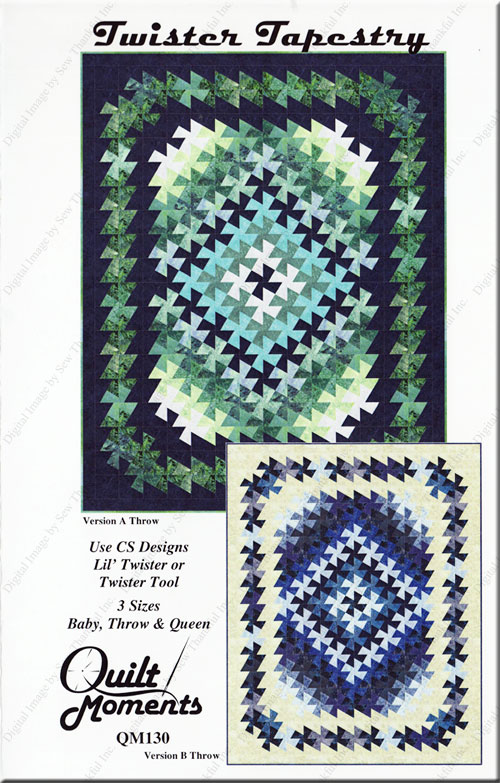 Twister-Tapestry-sewing-pattern-Marilyn-Foreman-Quilt-Moments-front