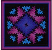 Twister Sparkler quilt sewing pattern from Quilt Moments 2