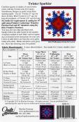 Twister Sparkler quilt sewing pattern from Quilt Moments 1