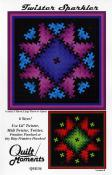 Twister Sparkler quilt sewing pattern from Quilt Moments