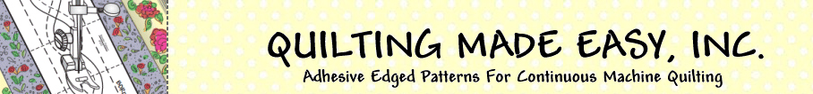 Quilting Made Easy sewing patterns logo
