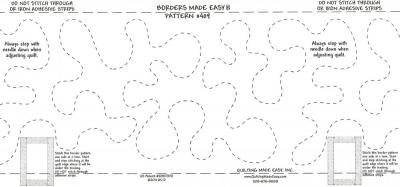 Borders Made Easy Pattern #409 from Quilting Made Easy
