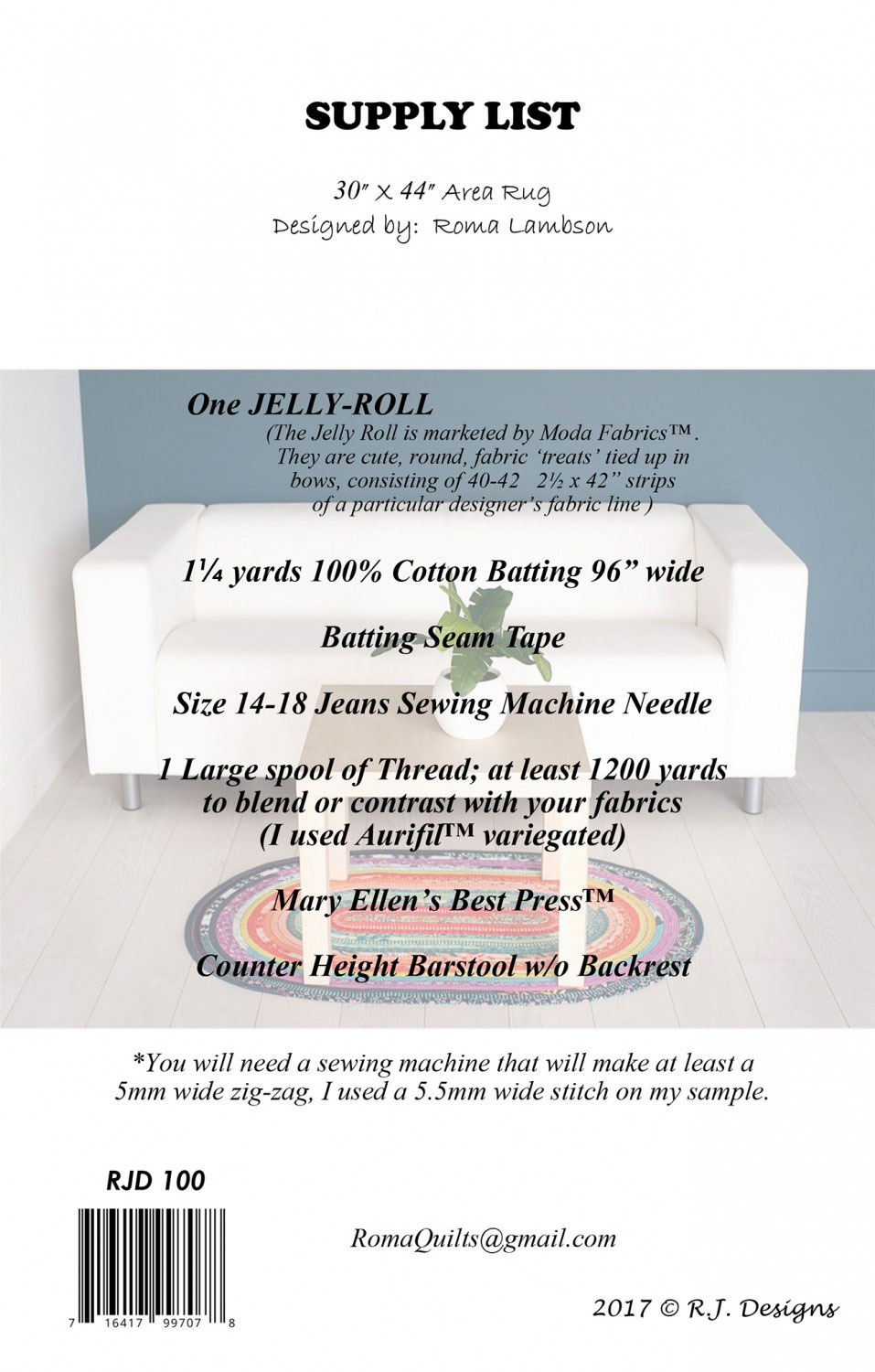 Jelly-Roll-Rug-sewing-pattern-from-RJ-designs-back