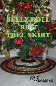 Jingle Bell Special (expires 11:59PM ET on 10/23/21)...Jelly Roll Rug Christmas Tree Skirt sewing pattern from RJ Designs