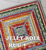 Jelly Roll Rug Plus sewing pattern from RJ Designs 2