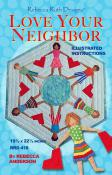 Love Your Neighbor table topper sewing pattern Rebecca Ruth Designs