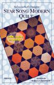 Star Song Modern quilt sewing pattern Rebecca Ruth Designs