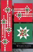 INVENTORY REDUCTION...Showering Stars Table Runner & Pillow Covers sewing pattern by Robin Pickens 2