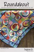 Roundabout quilt sewing pattern from Saginaw St Quilts
