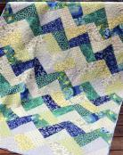 Zig quilt sewing pattern from Saginaw St Quilts 2