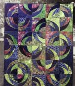 Blue Onion quilt sewing pattern from Saginaw St Quilts 2