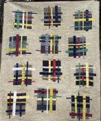 Double Crossed quilt sewing pattern from Saginaw St Quilts 2