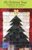 Oh Christmas Tree Dressed for the Holidays quilt sewing pattern from Saginaw St Quilts
