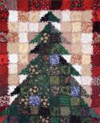 Oh Christmas Tree quilt sewing pattern from Saginaw St Quilts 2