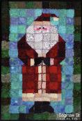 Old Saint Nick quilt sewing pattern from Saginaw St Quilts 2