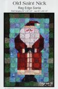 Old Saint Nick quilt sewing pattern from Saginaw St Quilts