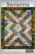 Savanna quilt sewing pattern from Saginaw St Quilts