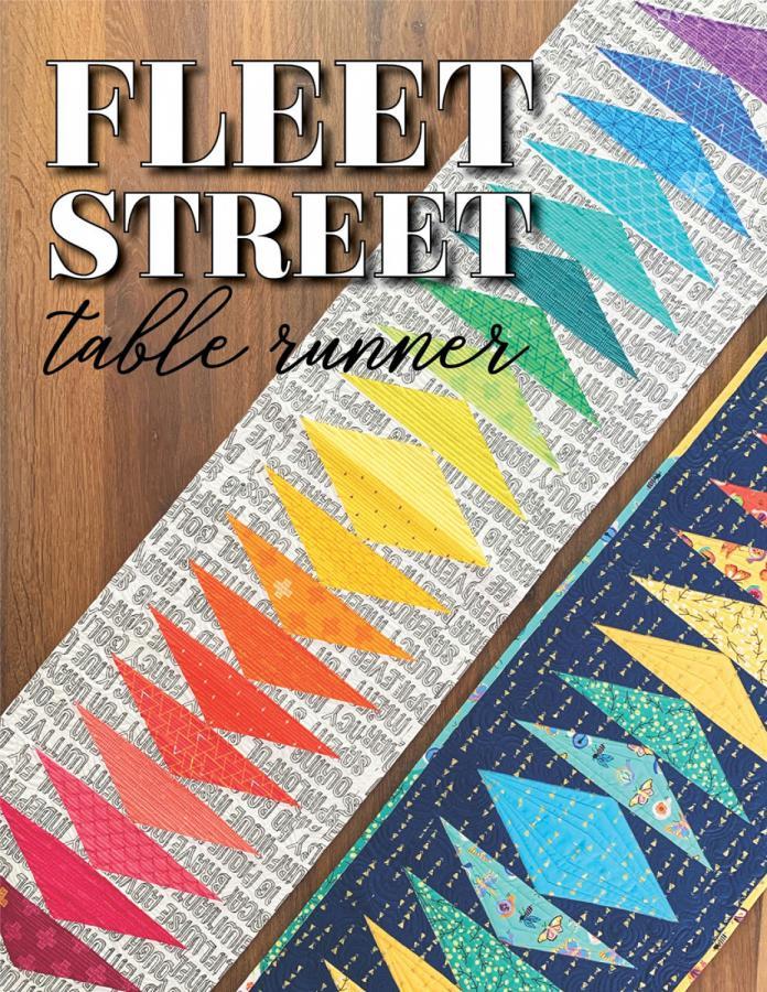 Fleet Street Table Runner sewing pattern from Sassafras Lane Designs