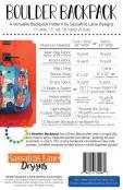 Boulder Backpack sewing pattern from Sassafras Lane Designs 1