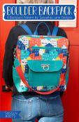 Boulder Backpack sewing pattern from Sassafras Lane Designs