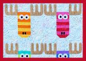 Mini Wild Moose Chase quilt sewing pattern from Sassafras Lane Designs 3