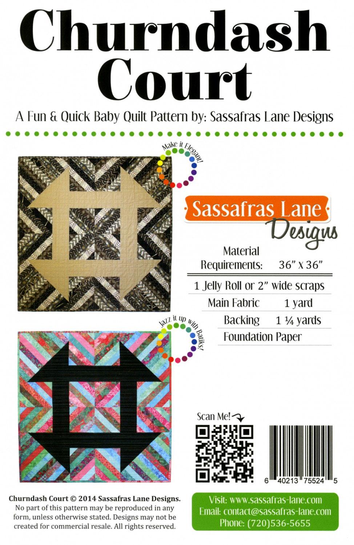 Churndash-Court-quilt-sewing-pattern-Sassafras-Lane-Designs-back