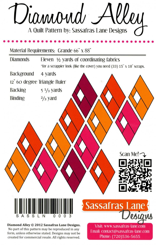 Diamond-Alley-quilt-sewing-pattern-Sassafras-Lane-Designs-back