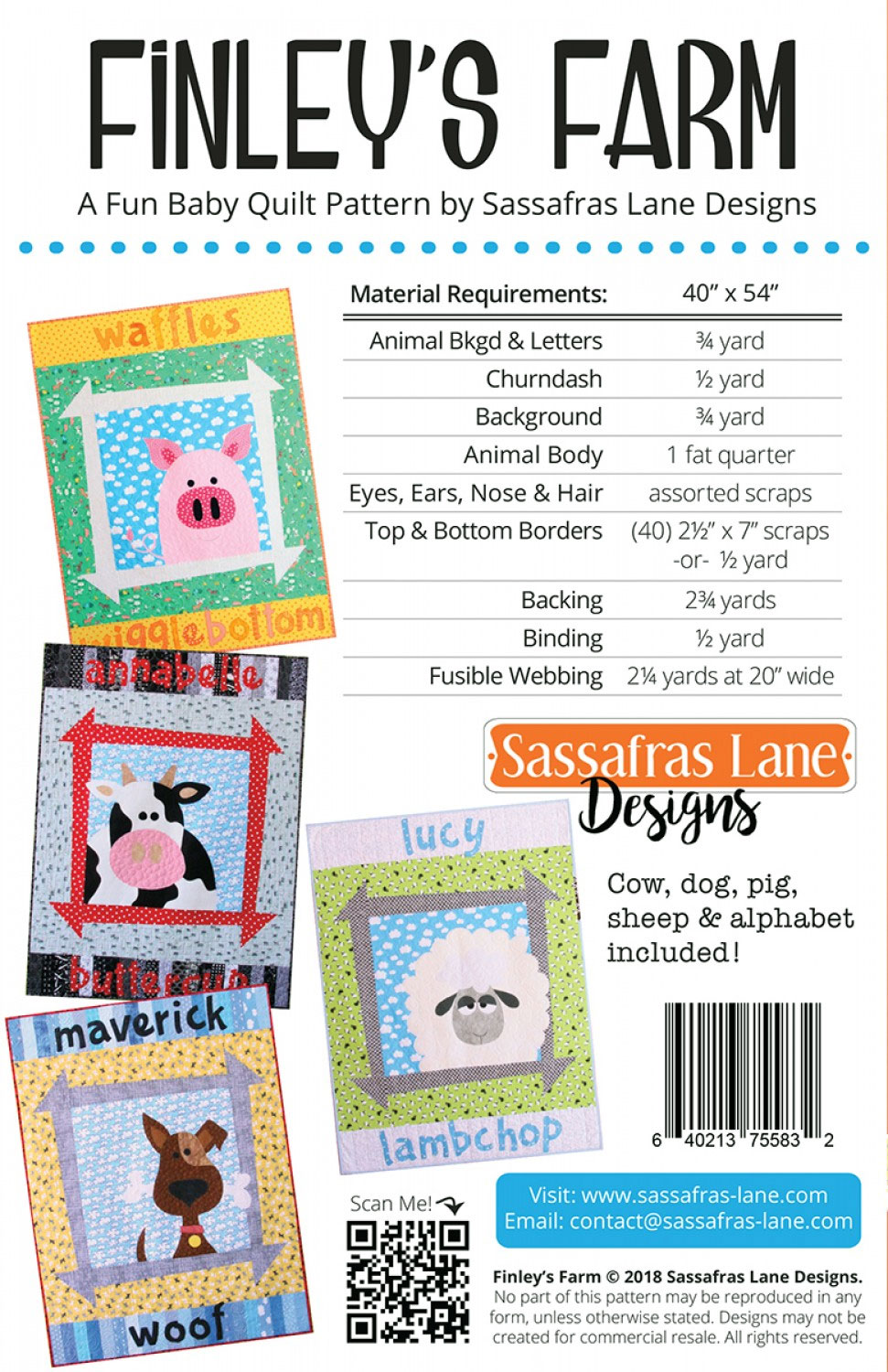 Finleys-Farm-quilt-sewing-pattern-Sassafras-Lane-Designs-back