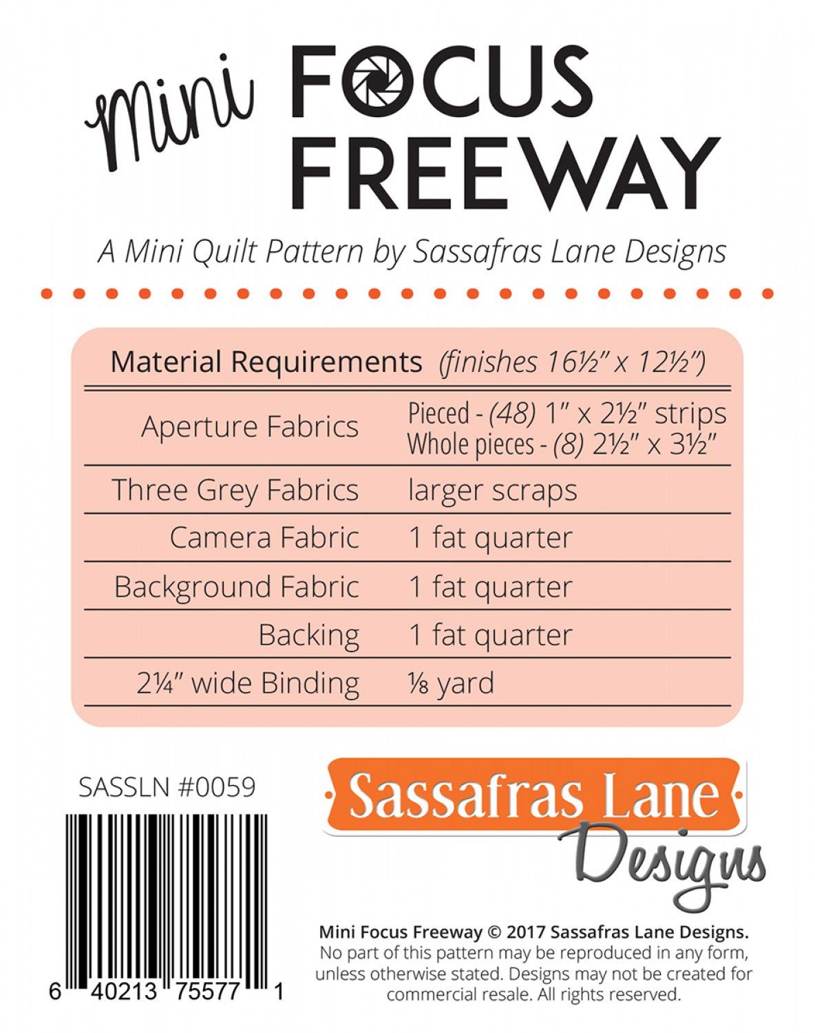 Mini-Focus-Freeway-quilt-sewing-pattern-Sassafras-Lane-Designs-back