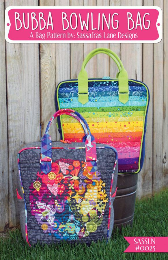 Bubba Bowling Bag sewing pattern Sassafras Lane Designs
