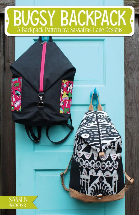 Bugsy Backpack sewing pattern Sassafras Lane Designs